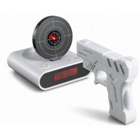 Будильник-мишень Gun Alarm Clock