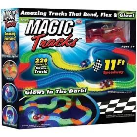 Светящаяся гоночная трасса Мэджик Трэк (MAGIC TRACKS) 220 деталей