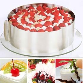 Раздвижное кольцо для торта Cake Ring 15-30 см