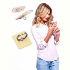 Кольцо-держатель и подставка для телефона и планшета, золотое (Iring, gold) Bradex