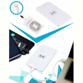 Аккумулятор беспроводной плоский для смартфонов с Lightning разъемом, белый (Wireless portable accumulator (flat)  Lightning, white) Bradex