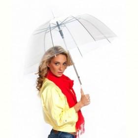 Зонт-трость «ПРОЗРАЧНЫЙ КУПОЛ» (Transparent umbrella) Bradex