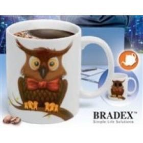 "Кружка-хамелеон «СОВА» (Cup ""Owl"") Bradex"
