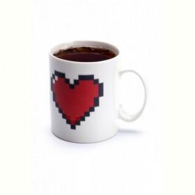 "Кружка-хамелеон «ЛЮБОВЬ» (Cup ""Love"") Bradex"