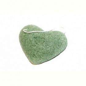 Губка-спонж «КОННЯКУ» с экстрактом зеленого чая (Konjac face sponge with GREEN TEA EXTRACTS) Bradex