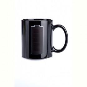 "Кружка-хамелеон «БАТАРЕЙКА» (Cup ""Battery"") Bradex"